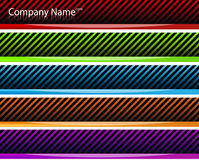 Web-Vorsatz-Fahnen Lizenzfreies Stockbild