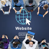 Web Website WWW Browser Internet Networking Concept royalty free stock photo
