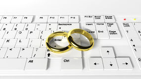 Web wedding Stock Images