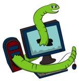Web worm Stock Image