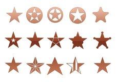 Web2 stars Royalty Free Stock Image