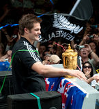 Webb-Ellis Cup Richie McCaw All Blacks Captain Stock Photos