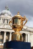 Webb Ellis Trophy In Nottingham immagine stock libera da diritti