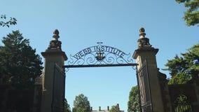 Webb Institute gated entrance (2 of 2)