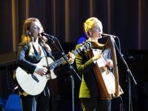 Webb Sisters (Lucca 2013) Foto de archivo