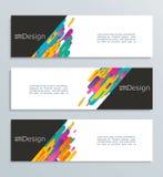Webbanner voor uw ontwerp, kopbalmalplaatje Royalty-vrije Stock Foto's