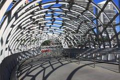 Webbbrug Melbourne Stock Afbeeldingen