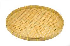 Webbed Bamboo Tray stock photography