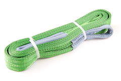 Webbing slings Royalty Free Stock Images