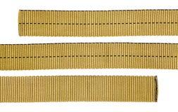 Webbing tubular de nylon fotografia de stock
