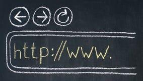 webbläsare Arkivbilder