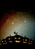 Webby pumpkins Stock Images