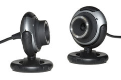 webcam δύο Στοκ Εικόνα