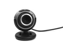 Webcam Fotografia Stock