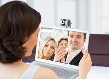 webcam royaltyfria foton
