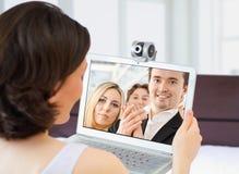 Webcam Στοκ φωτογραφίες με δικαίωμα ελεύθερης χρήσης