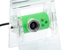 Webcam. Modern webcamera on a white background Royalty Free Stock Photos