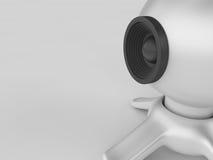Webcam Stock de ilustración