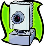 Webcam vektor abbildung