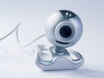 Webcam blue Stock Photos