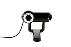 Webcam con el cable Imagenes de archivo