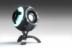 Webcam 3D übertragen Lizenzfreies Stockfoto