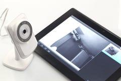 Webcam de la red Imágenes de archivo libres de regalías