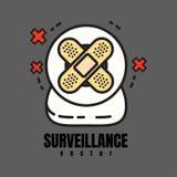 Webcam di sorveglianza Immagini Stock Libere da Diritti