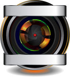 Webcam icon Royalty Free Stock Photos