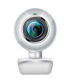 Webcam realista Foto de archivo libre de regalías