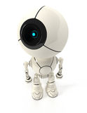 Webcam robot view from top Royalty Free Stock Image