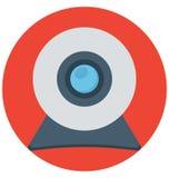 webcam, Webcamera, Geïsoleerde Vectorpictogrammen die gemakkelijk kunnen worden gewijzigd of uitgeven vector illustratie