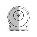 Webcamchatgerät Stockbild