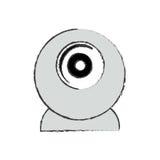 Webcamchatgerät Lizenzfreie Stockfotos