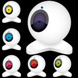 Webcams 3 Royalty Free Stock Images