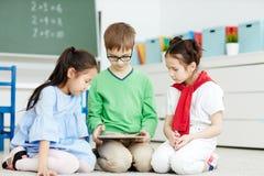 Webcast educacional fotografia de stock