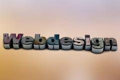 Webdesign Imagen de archivo