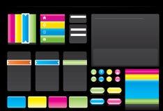 Webdesign elements Stock Photo