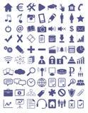 Webdesign flat icons set Stock Images