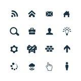 Webdesign icons set Royalty Free Stock Images