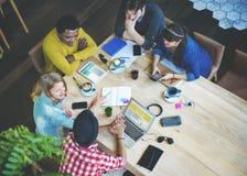 Webdesign-Ideen-Kreativitäts-kreatives Konzept des Entwurfes Stockfotografie