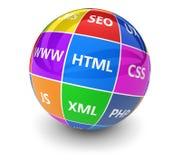 Webdesign Internet Development Concept Royalty Free Stock Image
