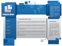 Webdesign template Stock Photography