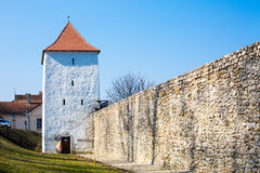 Weberbastion in Brasov-Stadt, Rumänien Stockfotos