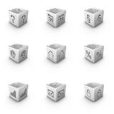 Webicons Royalty Free Stock Images