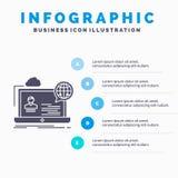 webinar,论坛,网上,研讨会、网站Infographics模板网站的和介绍 r 库存例证