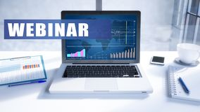 Webinar photographie stock