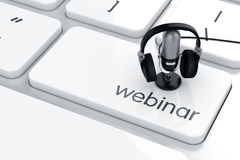 Webinar concept Stock Photography