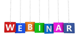 Webinar Concept Royalty Free Stock Photography
