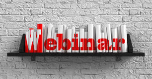 Webinar. Education Concept. Stock Photo